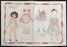 Robert Tonner's BETSY MCCALL Doll Mag. Paper Doll Uncut, 1996