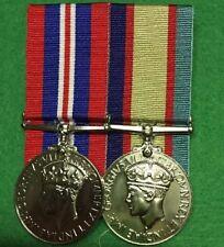 Replica World war 2 medals set of 2