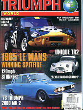 Triumph World Magazine June/July 1965 Spitfire TR2 EX 070916jhe