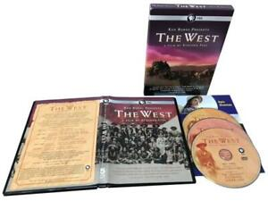 KEN BURNS PRESENTS THE WEST 3DVD FREE SHIPPING !