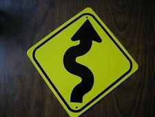 METAL MINI  CROOKED   TRAFFIC SIGNS   MINIATURE SIGN