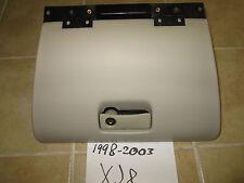 1998-99-2000-01-02-2003 JAGUAR XJ8 XJ8L VANDEN PLAS GLOVE BOX W/LOCK HANDLE AGD