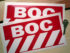 BOC Classic Racing Auto Sponsor Adesivi 240mm COPPIA ESCORT BDA ROVER XJS XJ6 SDI