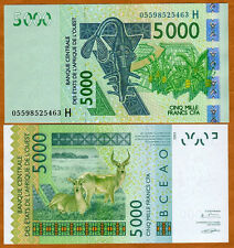 West African States, Niger,  5000 francs, P-617H, 2005, UNC