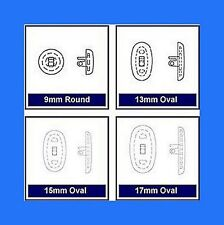 Leader Logic Nose Pads, Silicone, Screw or Push Fit for Glasses / Spectacles