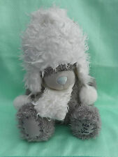 Me To You peluche ourson 20 cm assis *-* CHAPKA *-* chapka et écharpe blanches