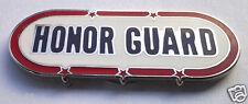 HONOR GUARD Military Veteran Hat Pin 15044 HO