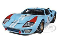 1966 Ford Gt 40 Mk Ii #1 Light Blue Miles - Hulme 1/18 Shelby Collectibles Sc411