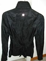 LULULEMON LIGHT WIND BREAKER JACKET  WITH HOOD  - BLACK - SIZE 4  -  EUC
