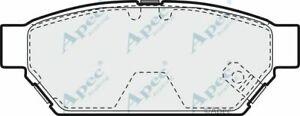 Brake Pads Rear FOR MITSUBISHI COLT IV 1.3 1.6 1.8 92->96 CA_A Apec