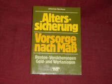 Johannes Beuthner: Alterssicherung - Vorsorge nach Maß