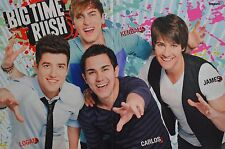 BIG TIME RUSH - A3 Poster (42 x 28 cm) - Carlos Pena Clippings Fan Sammlung NEU