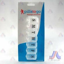 Pills To Go - 6.5Inch 7 Day Contoured Pill Box
