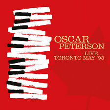 OSCAR PETERSON - Live... Toronto May '93. New CD + Sealed. **NEW**