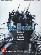 GMT: The Hunted: Twilight of the U-Boats Solitaire game