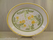 "Franciscan China USA ""Honeydew"" Platter 13"""