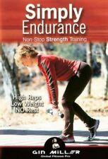 GIN MILLER SIMPLY ENDURANCE NON STOP STRENGTH DVD NEW SEALED TONING WORKOUT