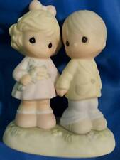 """Precious Moments """"You're Forever in My Heart"""" 139548 for wedding cake topper"""