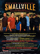 SMALLVILLE SEASON 1 ULTRA MASTER SET AUTOGRAPHS PIECEWORKS PROMOS PREVIEW SET+++