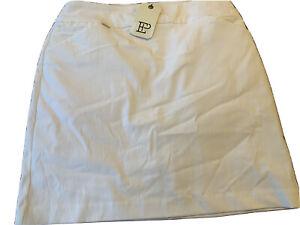EP Pro Women's Golf Skort Skirt White Small BNWT