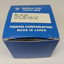 Genuine Hakko A1181 Nozzle BQFP 19x19mm Soldering Desoldering Rework Tip 850 SMD
