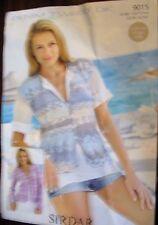 SIRDAR Denim ladies cardigans Tweed DK knitting leaflet no. 9015 sizes 32/34 52/