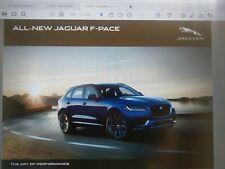 PDF 108p JAGUAR F pace 2017my Brochure + 2 x 2016my 40p price specification USB