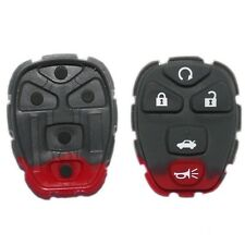 2 PCS Replacement 5 Buttons( 3+2 ) Pad For GM 22733524 (Fits: 2008 Malibu)