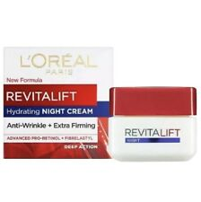L'Oreal Revitalift Hydrating Night Cream 1.7oz Anti-Wrinkle Extra Firming