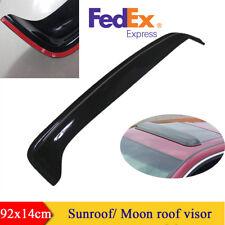 92x14cm Durable Black Acrylic Car Sun Roof/Moon Roof Visor Cover US Shipping