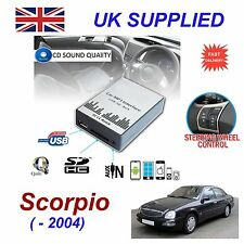FORD SCORPIO MP3 SD USB CD AUX Input Audio Adattatore digitale CAMBIA CD Modulo