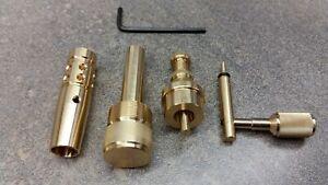 Precision Pack Suits Crosman 2240,2250 Power Adjuster Pack Brass/ Black /Silver