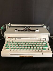 VINTAGE 1968 Olivetti PRAXIS 48 ELITE Electric Typewriter TESTED And WORKING