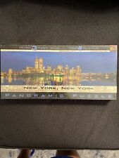 New York New York 750 Pcs. Panoramic Puzzle by Buffalo Games Inc. New.