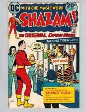 Shazam! #7  The Original Captain Marvel with Mr Tawny from 1973 VF+!