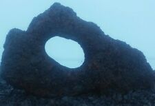Dragon stone aquarium fish tank aquascape hardscape swim through holey lava rock