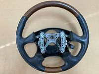 OEM 2000-2004 Subaru Legacy Outback L.L. Bean Leather and Wood Steering Wheel