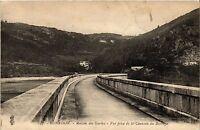 CPA   Renaison - Maison des Gardes -Vue prise de la Chaussée du Barrage (294192)