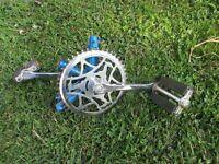 "Vintage, 26"" Raleigh bicycle SPROCKET GEAR BEARINGS  PEDALS COMPLETE"