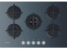 INDESIT ING72T/GR PIANO COTTURA 5 FUOCHI IN VETRO 75 CM GRAFITE