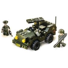 Sluban Army Jeep Building Bricks (102pc)- M38-B5800