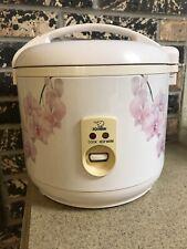 Vintage Zojirushi Nrc-10 Rice Cooker Steamer Warmer 1.0 Liter Floral