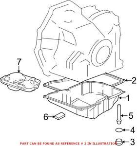 Genuine OEM Automatic Transmission Oil Pan Gasket for Mini 24117566356