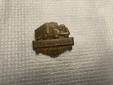 Vintage Teamsters Local 429 Trucking Truck Drivers Union Pin Brass Semi