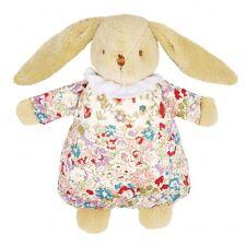 Trousselier lapin en peluche avec hochet et robe avec motif floral - 20 CM