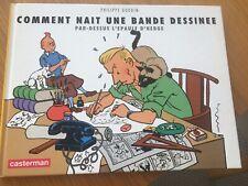 Comment nait une bande dessinée par dessus l'épaule d'hergé - casterman - Goddin