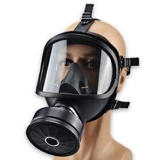 NE_ Full Face Filters Respirator Gas Cover Reusable Air Spray Protection Safey M