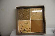 Tablett Serviertablett Holztablett Kerzentablett mit Griff  von pajoma neu Holz