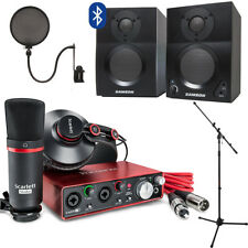 Focusrite Scarlett 2i2 Studio with Home Recording Kit (GEN 2)