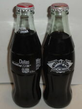VINTAGE COCA COLA CLASSIC BOTTLE LOT 1993 Colorado Rockies Dallas 1994 8oz Coke